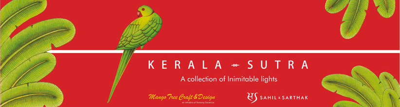 Kerala Sutra Collection By sahil & Sathak for Somany - Mango Tree